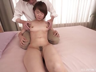 Married wife Akane Maiko sleeps with her bosses son for a promotion