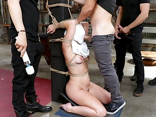 Severe oral tryout for the submissive amateur