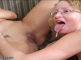 Sex orgy lovemaking with sex-starved mature
