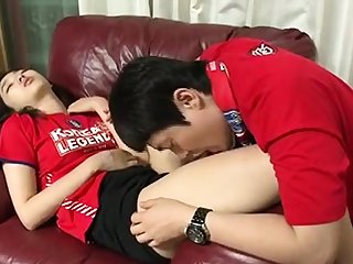 Amateur Korean cuple teen fucking in hotel clip 6