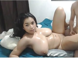 Cute Asian Chubby Teen has Sexy Fat Booty and fucks so well