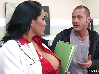 Busty wife Kiara Mia fucked without mercy by her horny lover