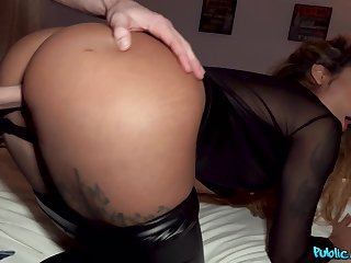 energized wife gets busy for money by fucking like a pro