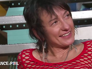 La France A Poil - Busty Mature In Fishnet Anal Pounded