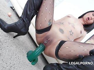 Jureka Del Mar gets a double ass fucking