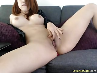 Fingering my juicy clit with lovense lush vibrator